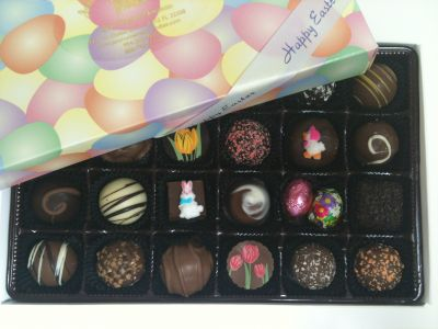 Easter Chocolate Assortment Box of 24