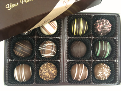 Traditional Truffle Assortment Box of 12