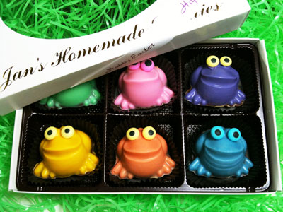 Easter Froggers   Box of 6